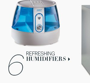 6. Refreshing Humidifiers