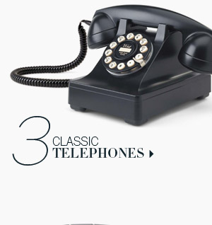 3. Classic Telephones