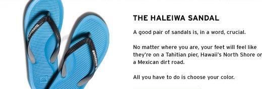 The Haleiwa Sandal