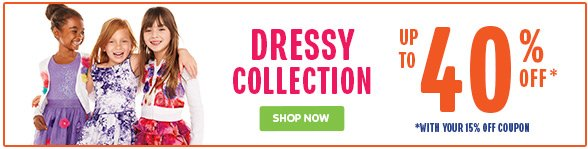 Dressy Collection up to 40% Off