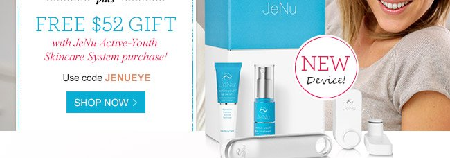 Shop Now - Use code JENUEYE at checkout!