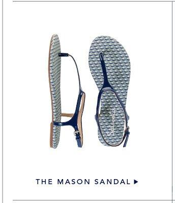 The Mason Sandal