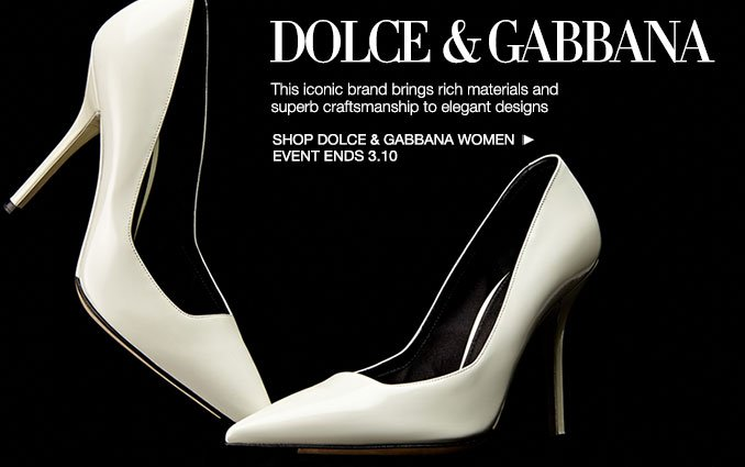 Shop Dolce & Gabbana - Ladies.