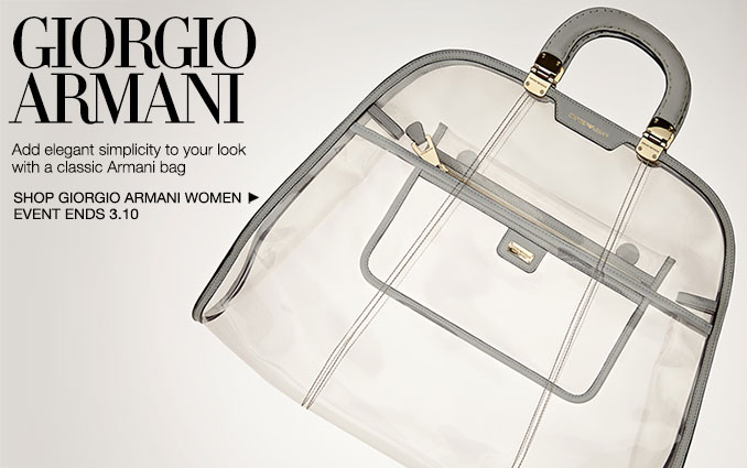 Shop Giorgio Armani - Handbags