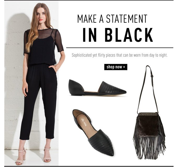 Make A Statement in Black