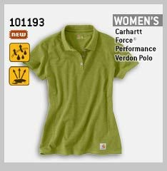 WOMEN'S FORCE PERFORMANCE VERDON POLO