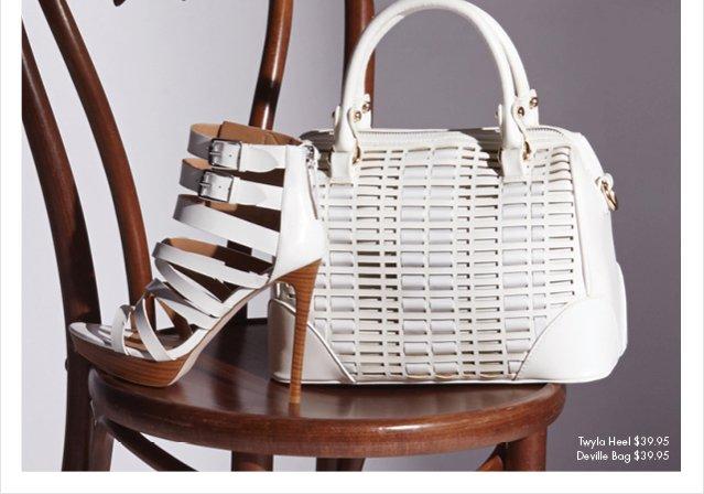Twyla Heel - $39.95 - Deville Bag - $39.95