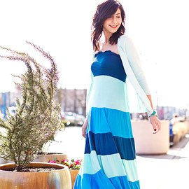 Spring Outfits: Maxis & Cardigans