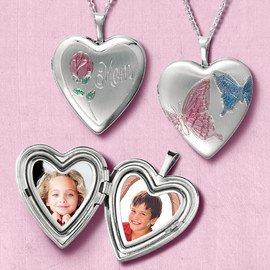 Perfect for Mother's Day: Lockets