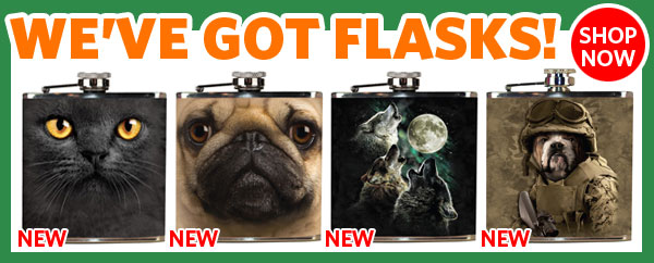 We've got flasks! Shop Now!