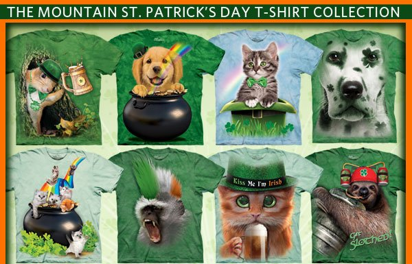 The Mountain St. Patrick's Day T-Shirt Collection