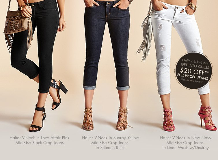 SHOP CROPPED JEANS