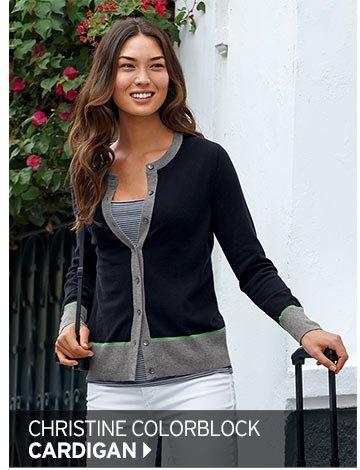 Shop Women's Christine Colorblock Cardigan >
