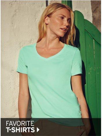 Shop Women's Favorite T-Shirts >