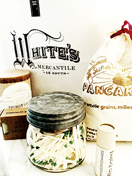 White's Mercantile Goodie Basket