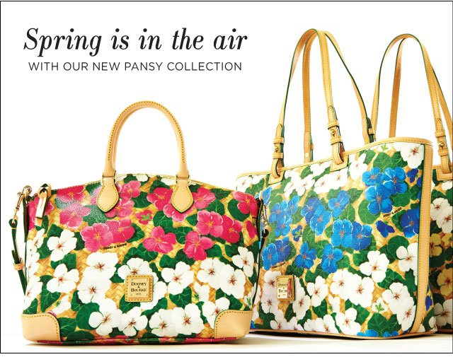 Spring is in the air with our new Pansy collection.