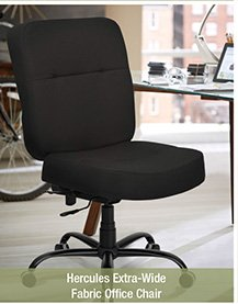 Hercules Extra-Wide Fabric Office Chair