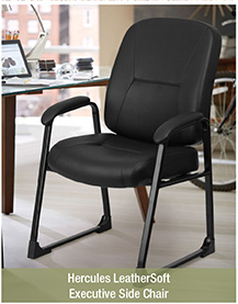 Hercules LeatherSoft Executive Side Chair