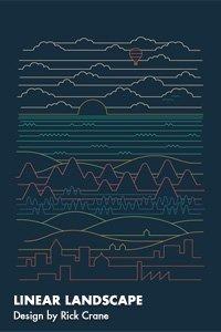 LINEAR LANDSCAPE Design by Rick Crane