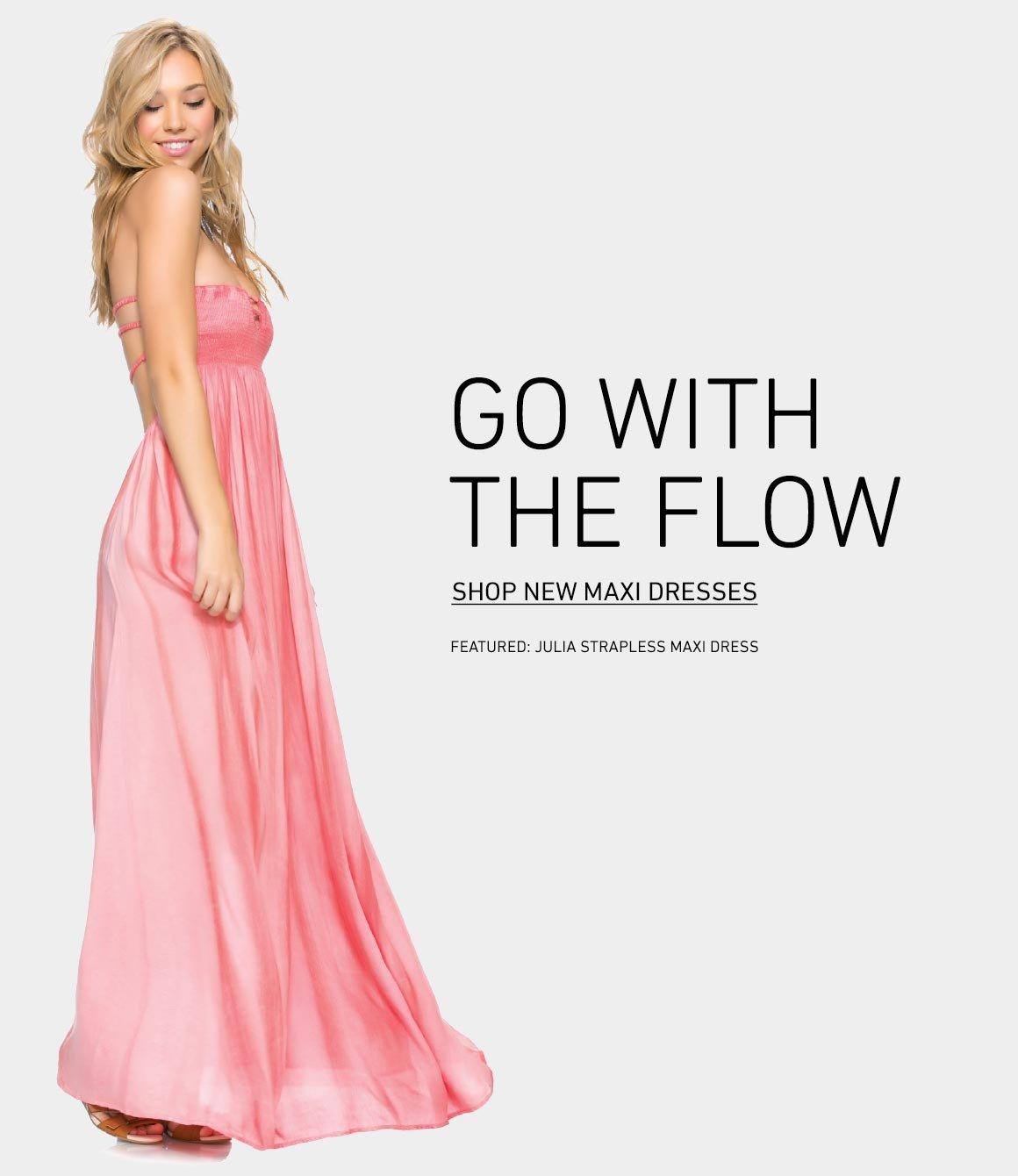 Shop New Maxi Dresses