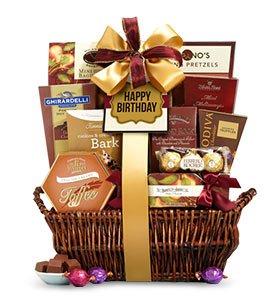 Happy Birthday Deluxe Balsam Basket Shop Now