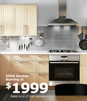 ORSA kitchen Starting at $1999