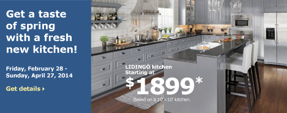 Get a taste of spring with a fresh new kitchen!