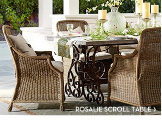 ROSALIE SCROLL TABLE
