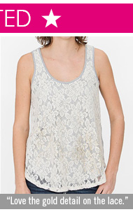 Jolt Heathered Tank Top