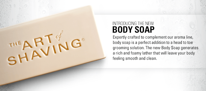 Introducing the new Body Soap