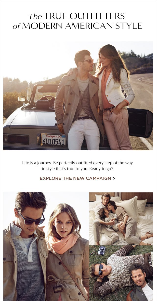 The TRUE OUTFITTERS of MODERN AMERICAN STYLE | EXPLORE THE NEW CAMPAIGN