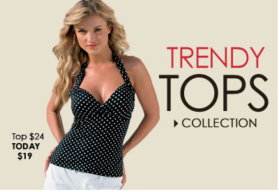 SHOP Trendy Tops