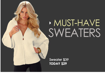 SHOP Must-Have Sweaters