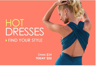 HOT Dresses - Find your style. SHOP Dresses