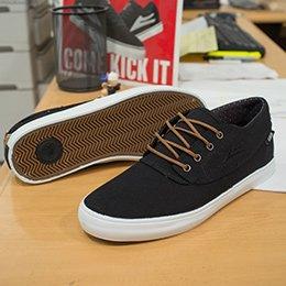 Lakai Camby Mid Shoe Black