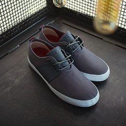 Lakai Albany Shoe Dark Shadow