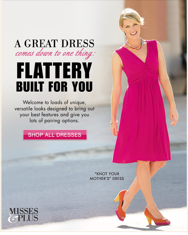 A Great Dress Comes Down to One Thing: Flattery Built for You | Shop All Dresses