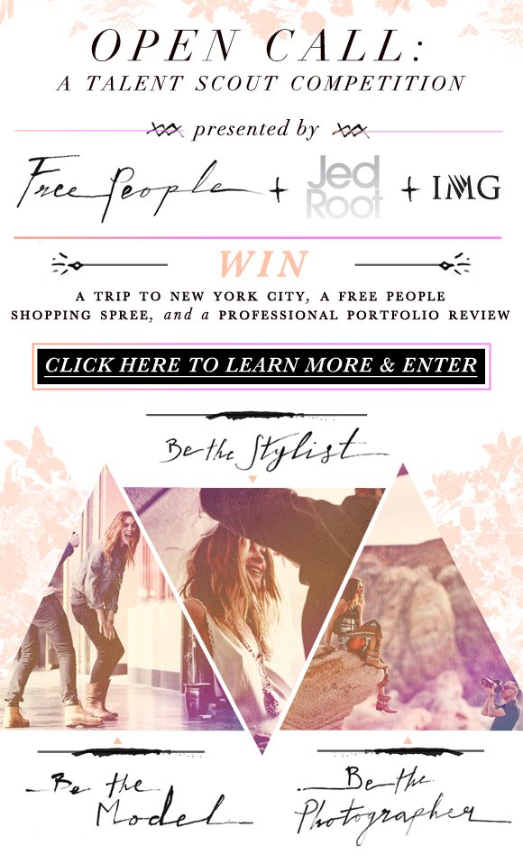 Presented by Free People + Jed Root + IMG