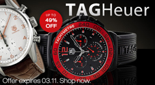 TAG Heuer flash sale