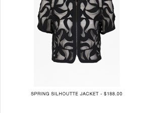 Spring silhoutte Jacket