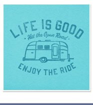 Women's Enjoy the Ride Airstream Tee