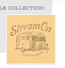 Men's Stream On Airstream Tee