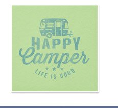 Women's Happy Camper Airsrtream Tee