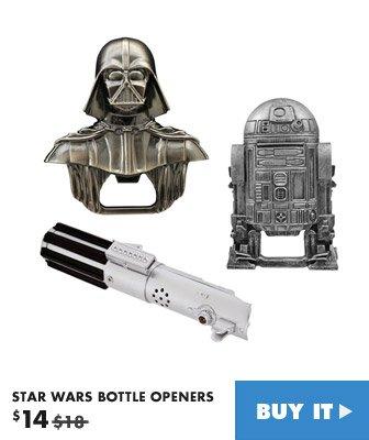 star wars bottle opener