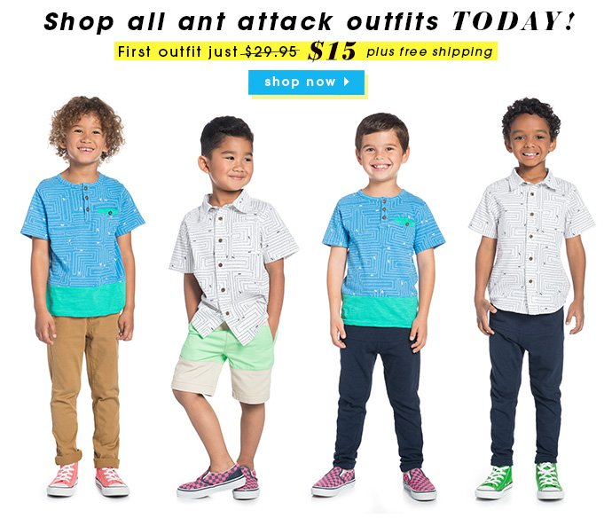 Your First Outfit $15!