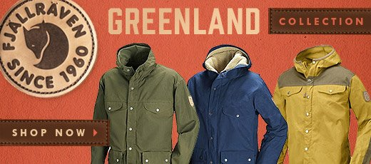 The Fjallraven Greenland Collection