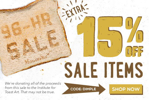 Extra 15% off Sale items with code DIMPLE
