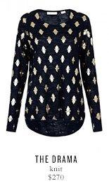 THE DRAMA knit - $270