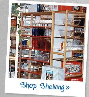 Shop  Shelving »