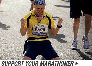 Start now and Support your Marathoner - Promo A